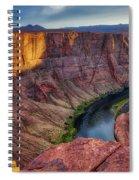 Horseshoe Bend Landscape Spiral Notebook