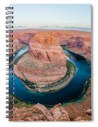 Horseshoe Bend Near Page Arizona Spiral Notebook