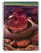 Horseshoe Bend Photo Spiral Notebook