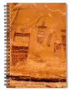 Horseshoe Canyon Great Gallery Group 3 Pictographs Spiral Notebook