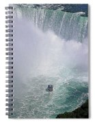 Horseshoe Falls And Maid Of The Mist Spiral Notebook