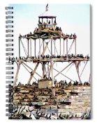 Horseshoe Reef Lighthouse 3 Spiral Notebook