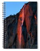 Horsetail Falls 2016 Spiral Notebook