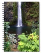 Horsetail Falls Basin Spiral Notebook