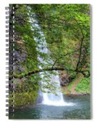 Horsetail Falls, Oregon Spiral Notebook