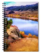 Horsetooth Lake Overlook Spiral Notebook
