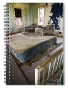 Hospital Bed Preston Castle Spiral Notebook