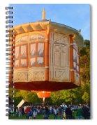 Hot Air Ballon 3 Spiral Notebook