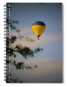 Hot Air Ballon In Oklahoma Spiral Notebook