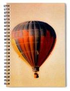 Hot Air Balloon Spiral Notebook
