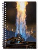 Hot Air Balloon Gas Burner Spiral Notebook