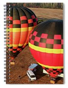 Hot Air Balloons Spiral Notebook