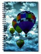Hot Air Balloons In Albuquerque Spiral Notebook