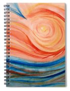 Hot And Cold Spiral Notebook