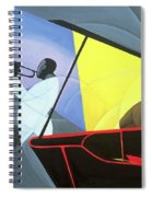 Hot And Cool Jazz Spiral Notebook