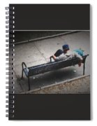 Hot And Homeless Spiral Notebook