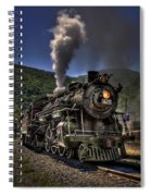Hot And Steamy Spiral Notebook
