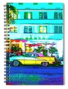 Hot Avalon Spiral Notebook