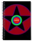 Hot Black Spiral Notebook