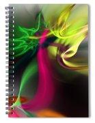 Hot Chili Nightmare Spiral Notebook