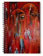 Hot City Spiral Notebook