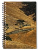 Hot Days Spiral Notebook
