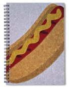 Hot Dog Emoji Spiral Notebook