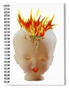 Hot Head Spiral Notebook