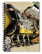 Hot Hotrod Spiral Notebook