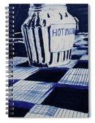 Hot Mustard Spiral Notebook