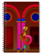 Hot Night In Rome Spiral Notebook