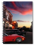 Hot Night Spiral Notebook