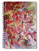 Hot Pepper Drying Spiral Notebook