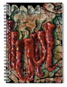 Hot Pepper Fresco Spiral Notebook