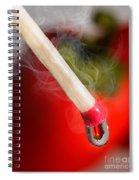 Hot Peppers Spiral Notebook