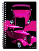 Hot Pink 33  Spiral Notebook