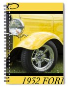 Hot Rod 10 Spiral Notebook