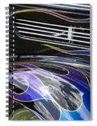 Hot Rod 6 Spiral Notebook
