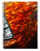 Hot Rod Chevrolet Scotsdale 1978 Spiral Notebook