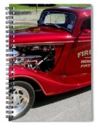 Hot Rod Chief Spiral Notebook