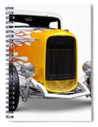 Hot Rod Ford Hi-boy Coupe 1932 Spiral Notebook