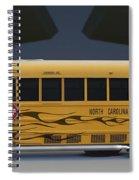 Hot Rod School Bus Spiral Notebook