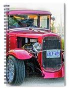 Hot Rod - Vignette Spiral Notebook