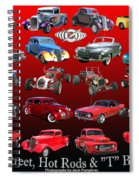 Car Show And Shine Poster Spiral Notebook