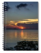 Hot Sunset Spiral Notebook