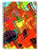 Hot Tile Reflection Spiral Notebook