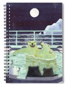 Hot Tubbin Spiral Notebook