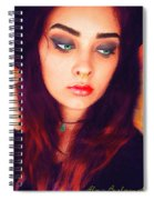 Hot Youth Beauty Rebellion Alexis Burleson Signed Spiral Notebook