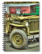 Hotchkiss Jeep Spiral Notebook