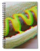 Hotdog - Use Red-cyan 3d Glasses Spiral Notebook